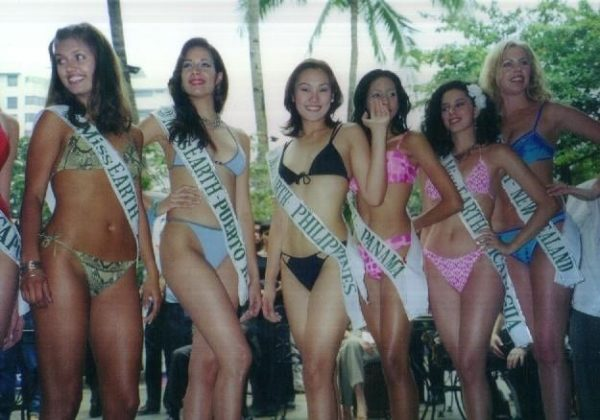 Miss Earth 2001 Виктория Боня