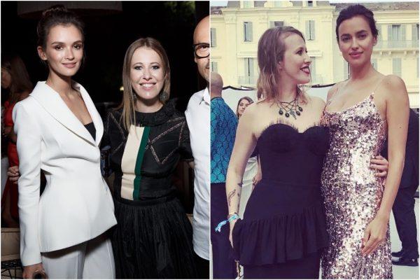 """""""Площадной Петрушка"""" - снимки Ксении Собчак рядом с красивыми женщинами"""