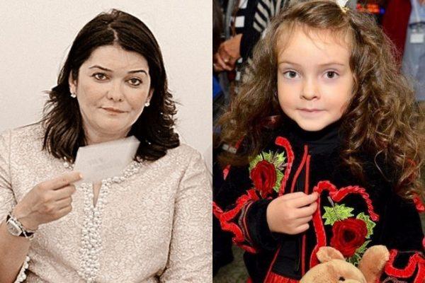 Наталья Ефремова и Алла-Виктория Киркорова