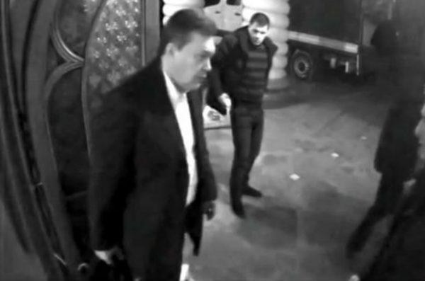 Ночное бегство Януковича. Фото atn