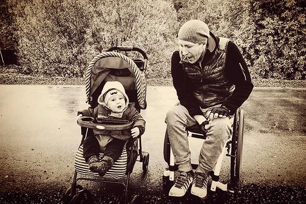 Евгение Во с сыном. Фото starhit.ru
