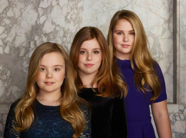 принцесса Катарина-Амалия с сестрами