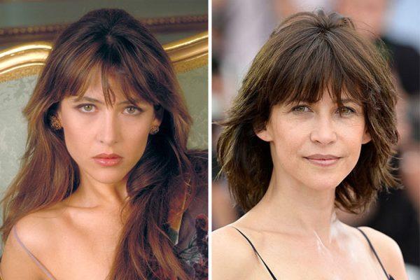 """Завязала с мужчинами? Снимки """"французской орхидеи"""" Софи Марсо"""