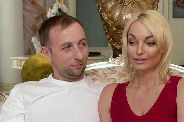 Анастасия Волочкова с возлюбленным Олегом