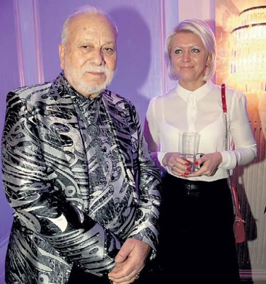 Бедрос Филиппович с блондинкой Таней
