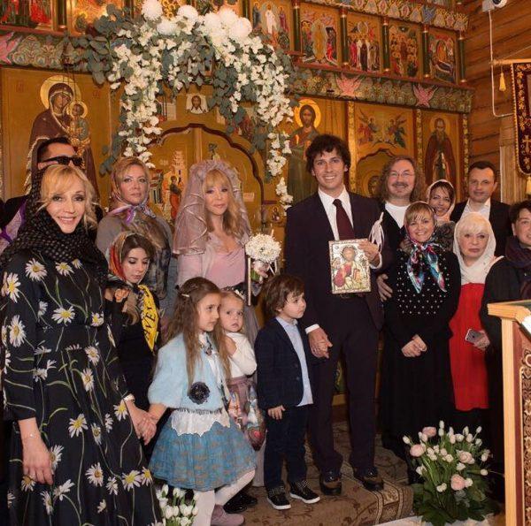 Венчание Пугачёвой и Галкина