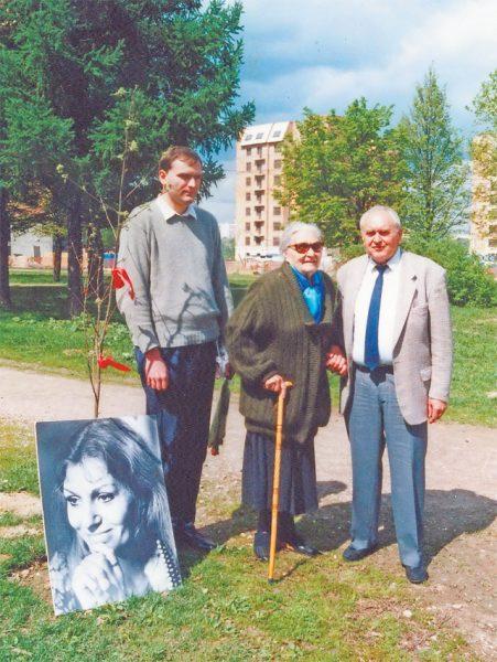 Сын, муж и мать Анны Герман