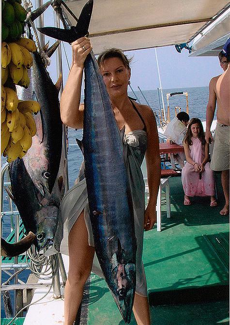 Рыбачка Проклова. Фото