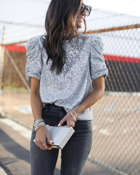Fashionable things with sequins
