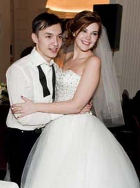 Анастасия с мужем Дмитрием Зангиевым