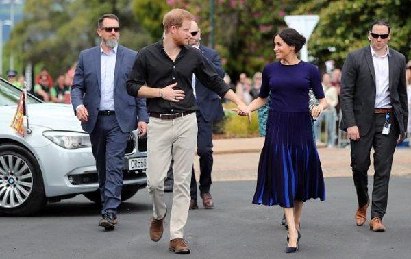 Принц Гарри и Меган Маркл. Фото rbc