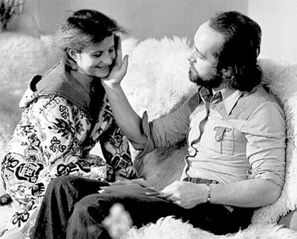 Ольга Корбут и Леонид Борткевич
