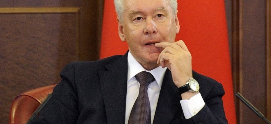 Сергей Собянин. Фото kommersant.ru