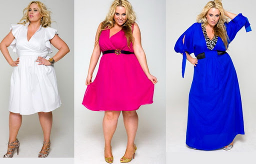 Ladies in dresses