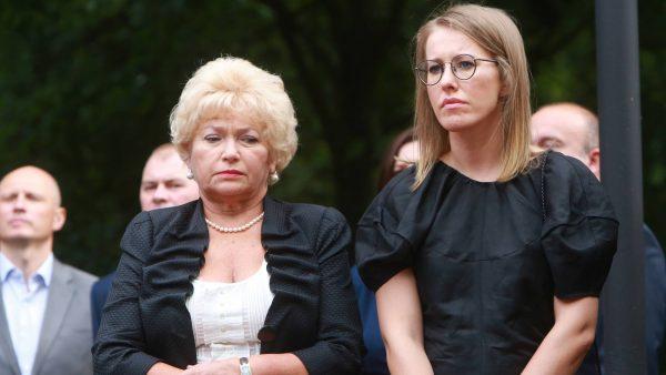 Людмила Нарусова, Ксения Собчак,