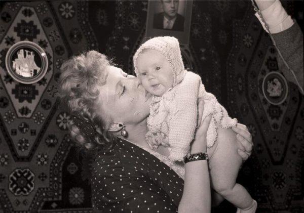 Алла Ларионова с дочерью