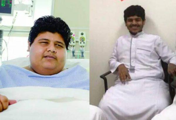 Халид ибн Мухсен до и после преображения
