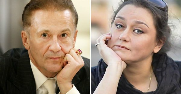 Олег Меньшиков и Маргарита Шубина