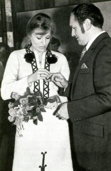 Анна Герман и Збигнев Тухольский