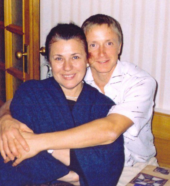 Валентина Толкунова с сыном
