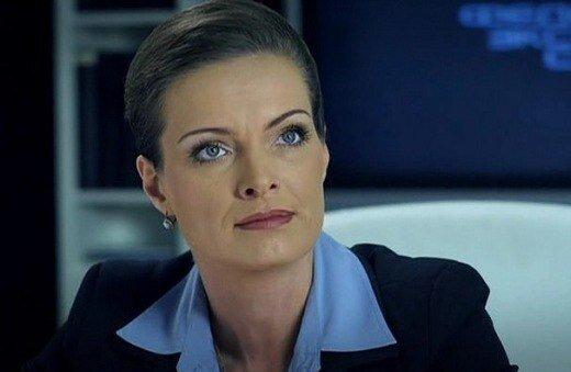 Главная героиня - полковник Рогозина, которую играет Ольга Копосова