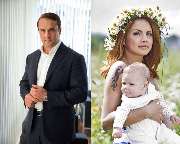 Антон Петров и Макsим с дочерью