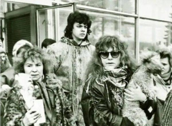 Пугачева, Киркоров и Люся.
