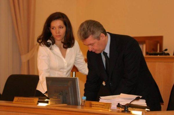 Сергей Собянин и Анастасия Ракова. Фото znak.com