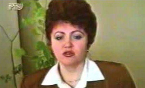 Валентина Петренко, 1993 год (кадр из видео)