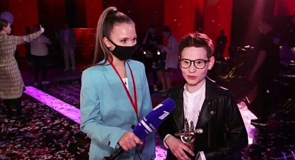 Победитель 8 сезона шоу «Голос. Дети» Влад Тюкин