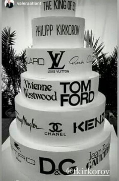 Торт с дня рождения Киркорова