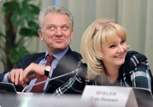 Татьяна Голикова и Виктор Христенко. Фото ТАСС