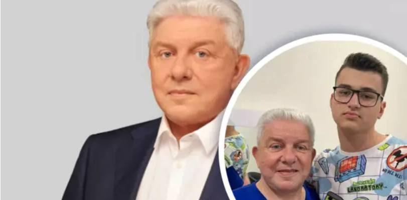 Олег Филимонов с внуком