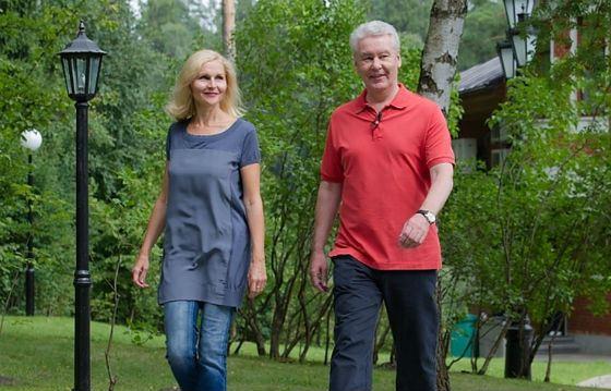 Ирина и Сергей Собянины. Фото znak.com