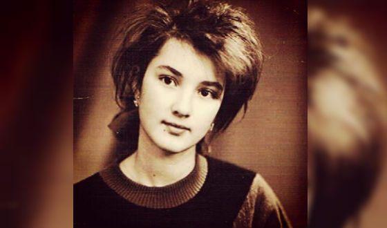 Лера Кудрявцева в юности. Фото