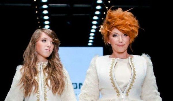 Елена Воробей с дочкой. Фото Вокруг ТВ