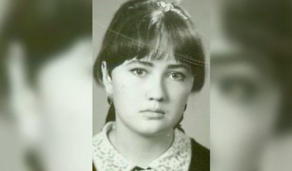 Лариса Гузеева в выпускном классе