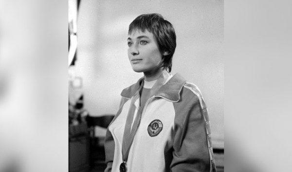 Лариса Гузеева в студенческие годы.