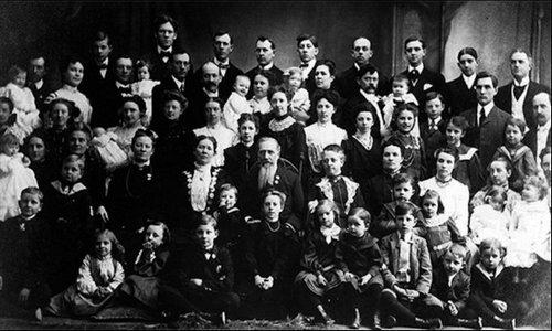 Это не семья Васильевых, но имена этих людей неизвестно