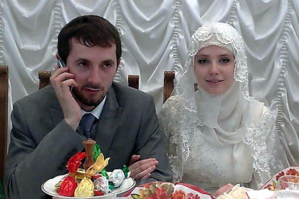 Мария Алалыкина с мужем Махмудом