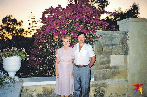 Валентина Матвиенко с супругом Владимиром