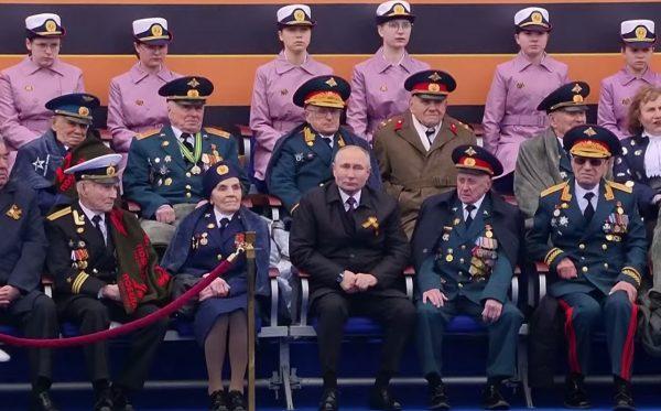 Владимир Путин и Василий Пронин