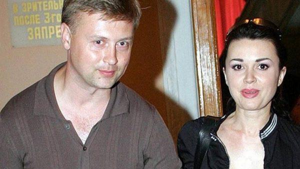 Анастасия Заворотнюк с бывшим мужем