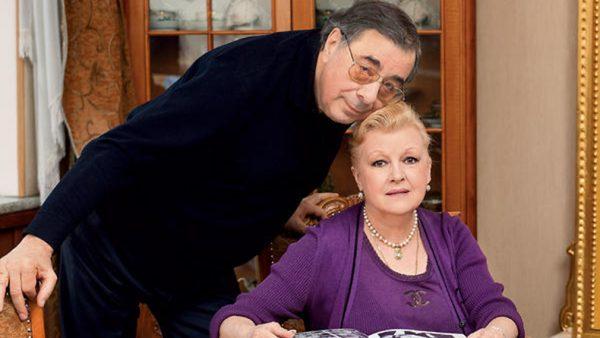 Наталья Дрожжина и Михаил Цивин, фото:tvcenter.ru