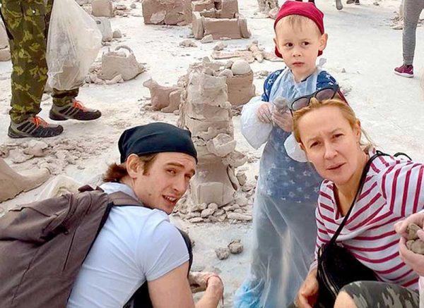 Семейное фото Евгении Дмитриевой