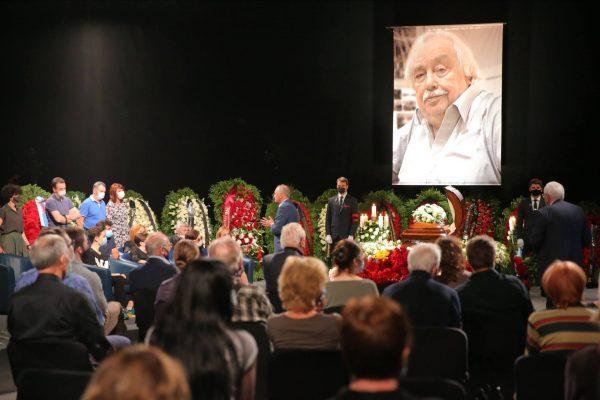 Похороны Лысенко