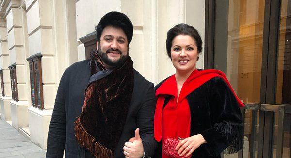 Юсиф Эйвазов с женой