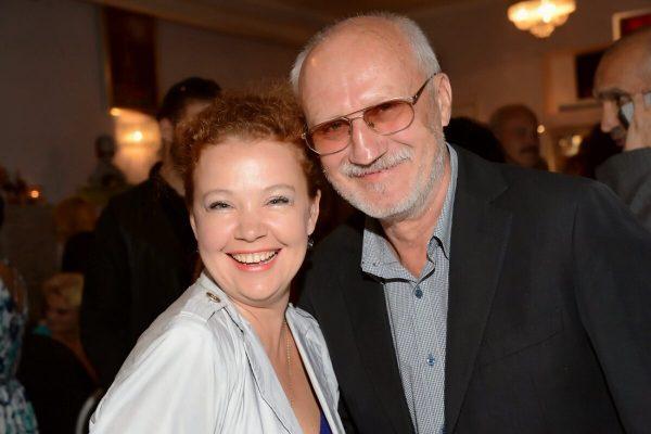 Юрий Беляев с женой