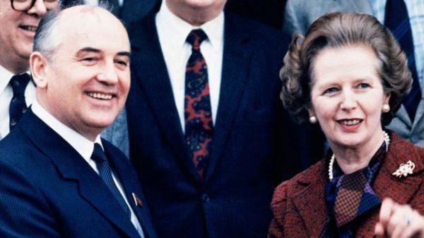 Супруги Горбачëвы