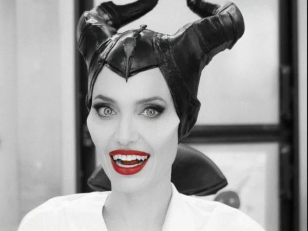 Анджелина Джоли в роли Малефисенты. peepingmoon.com